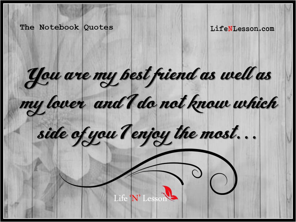 The Notebook Quotes