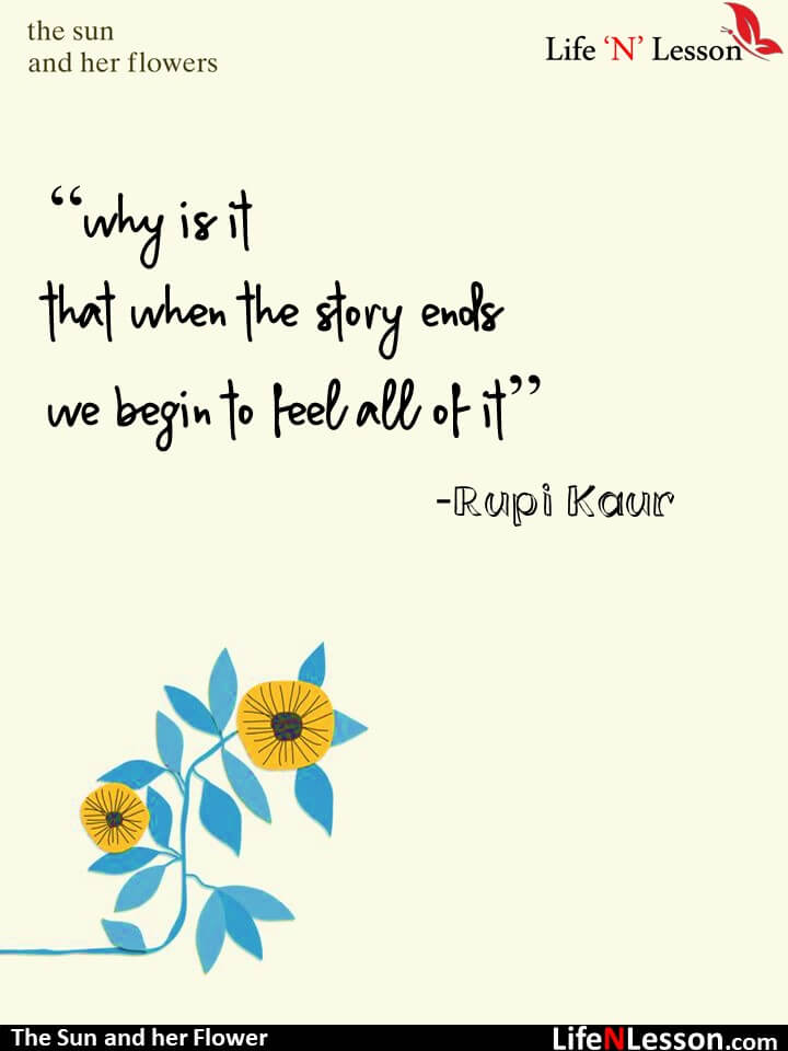 16 Quotes from Rupi Kaur\'s The Sun And Her Flowers that ...