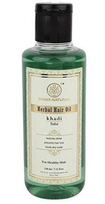 Khadi Tulsi Hair Oil