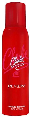 Revlon Charlie Perfume Body Spray, Red
