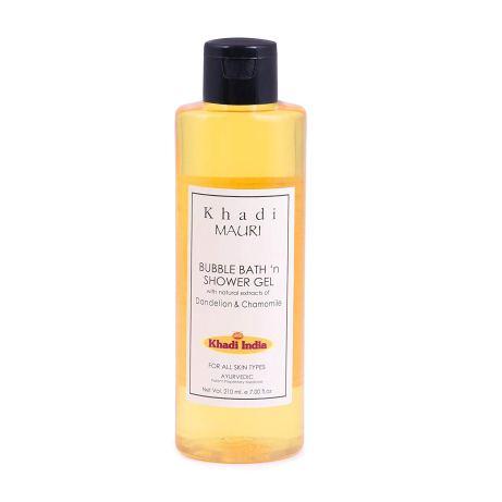 Khadi Mauri Herbal Shower Gel and Bubble Bath