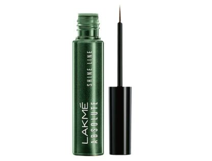 Lakme Absolute Shine Line Eye Liner, Sparkling Olive
