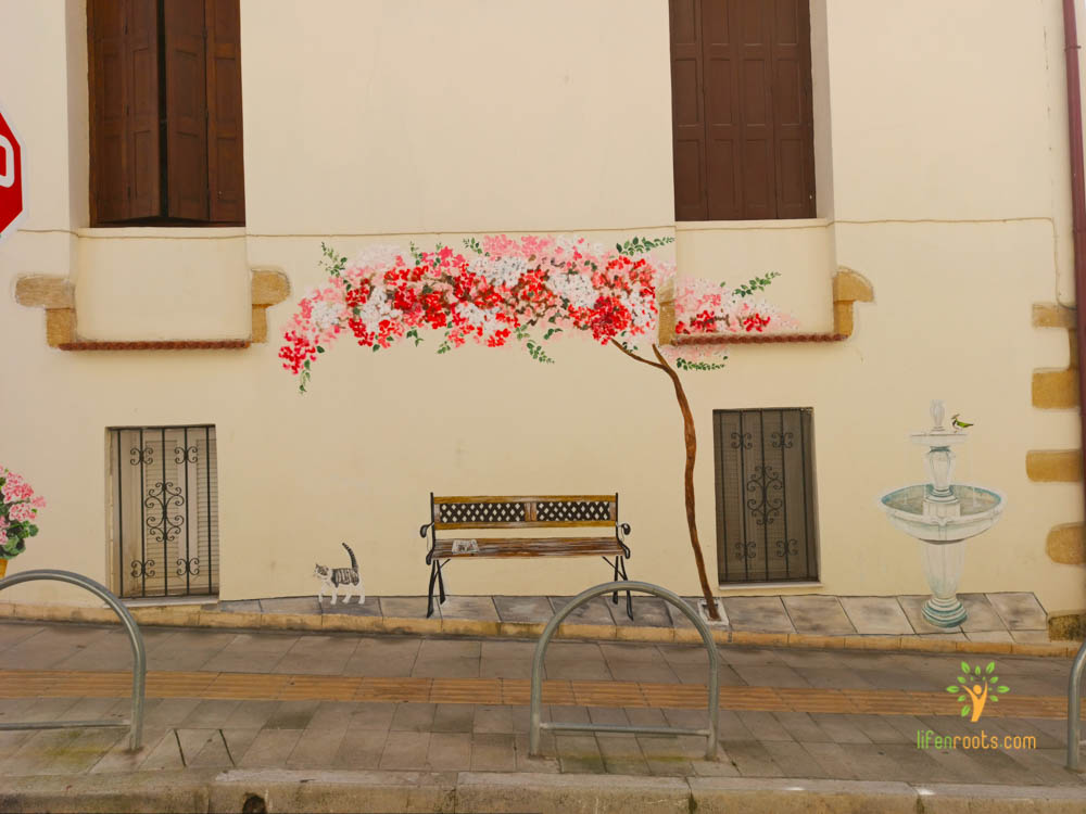 painter, The most beautiful street in Chania