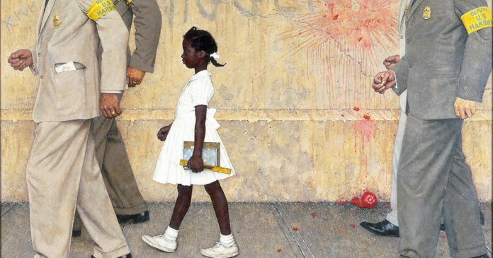 ", Ruby Bridges and ""The Problem We All Live With"""