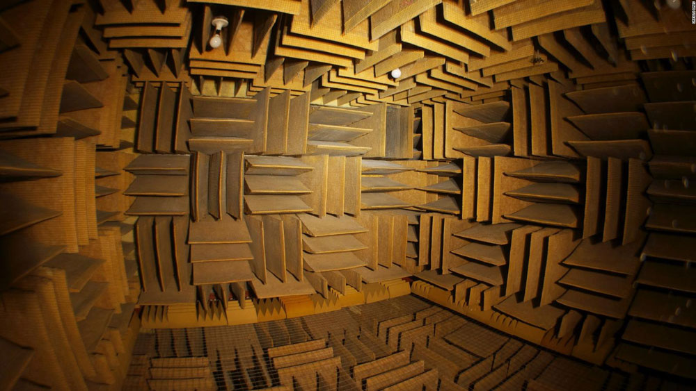 , The quietest room in the world