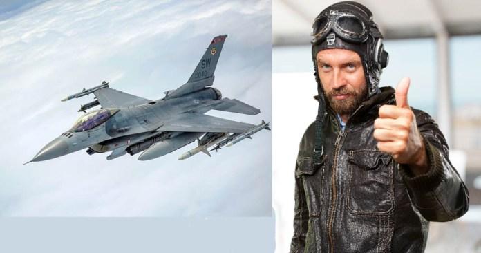 , Που ουρούν οι πιλότοι των F-16 εν ώρα πτήσης;
