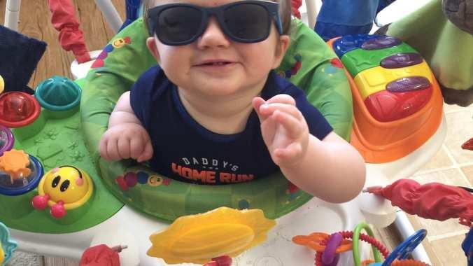 LifeofaCherryWife-Baby Einstein Jumper baby product