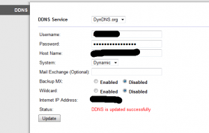 How To Setup a DDNS enabled Router Through Double NAT