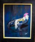Portrait of my Cock 40x50 cm $12,000