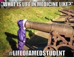 Life in Medicine, Sad medical school days