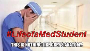 Life of a Med Student, medical school, medical student, Grey's anatomy