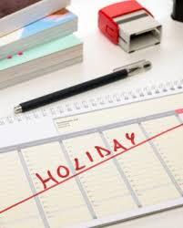 Holiday shifts