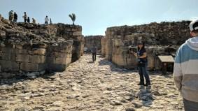 Megiddo city gates