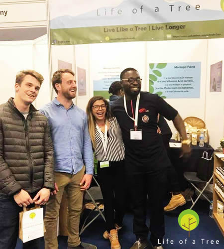 Vegfest UK London Olympia 2017 - Three of a Life