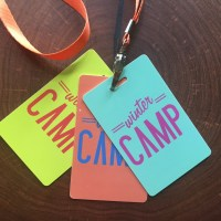 Organize for camp with custom lanyard schedules.