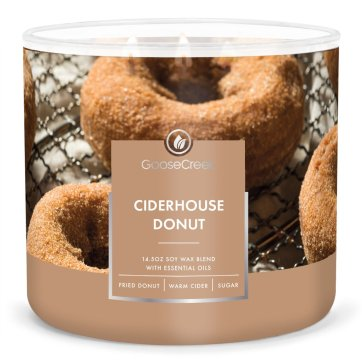 goosecreek ciderhouse donut fall candle