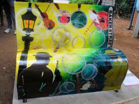 Sherlock Holmes bench