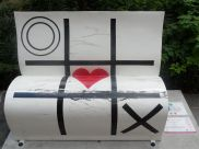 Noughts and Crosses bench