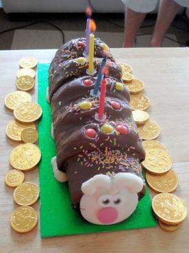 Wiggles the Caterpillar cake!