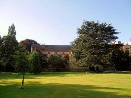 Wadham college grounds