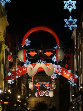 Carnaby Street lights