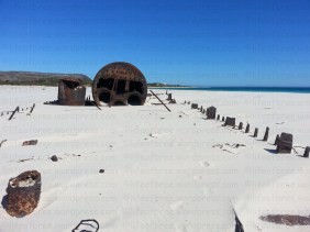 Something out of Mad Max at Noordhoek beach, Cape Town, South Africa