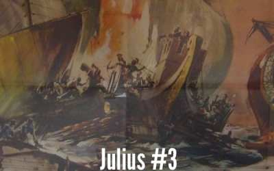 Julius Caesar #3 – Caesar And the Pirates