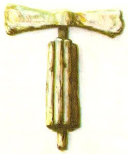 In 1898 the ancient Etruscan town of Vetulonia was unearthed and this iron fasces discovered. It seems they were first introduced into Rome by King Tarquinius Priscus, who was of Etruscan origin