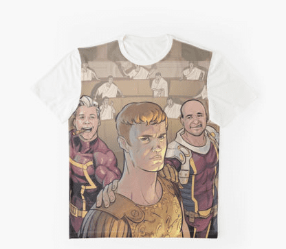 Redbubble Graphic Shirt - Augustus