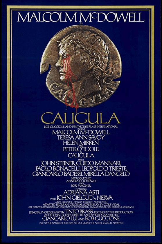 Caligula 1979 movie poster