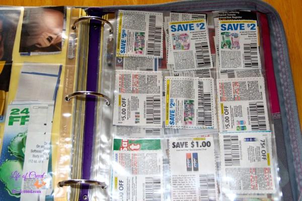 coupon binder