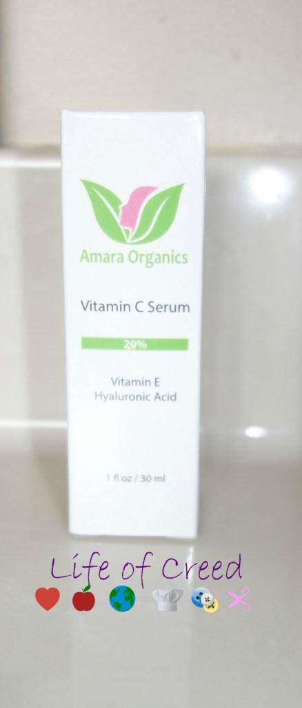 Amara Organics Vitamine C Review via @LifeofCreed