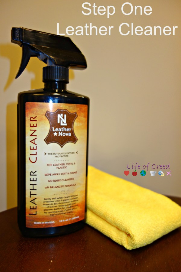 Nova Leather Cleaner review via @LifeofCreed
