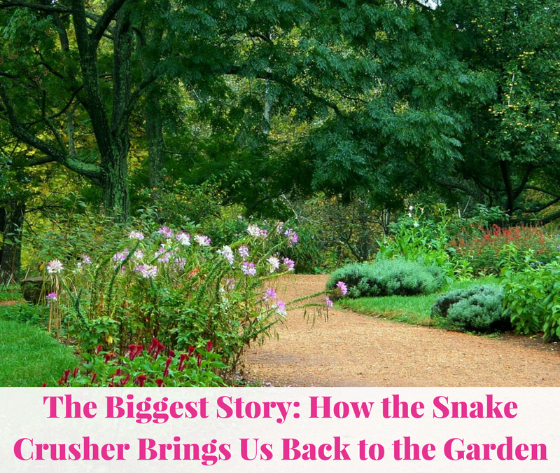 The Biggest Story: How the Snake Crusher Brings Us Back to the Garden |Book Review