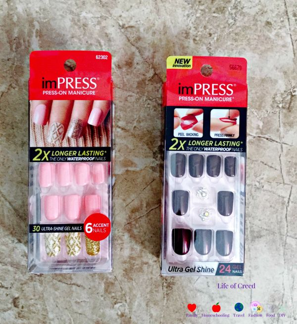 imPRESS Manicure review via lifeofcreed.com @Lifeofcreed