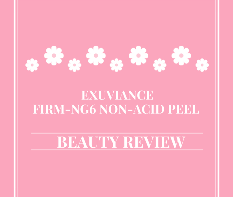 Exuviance Firm-NG6 Non-Acid Peel | Beauty Review