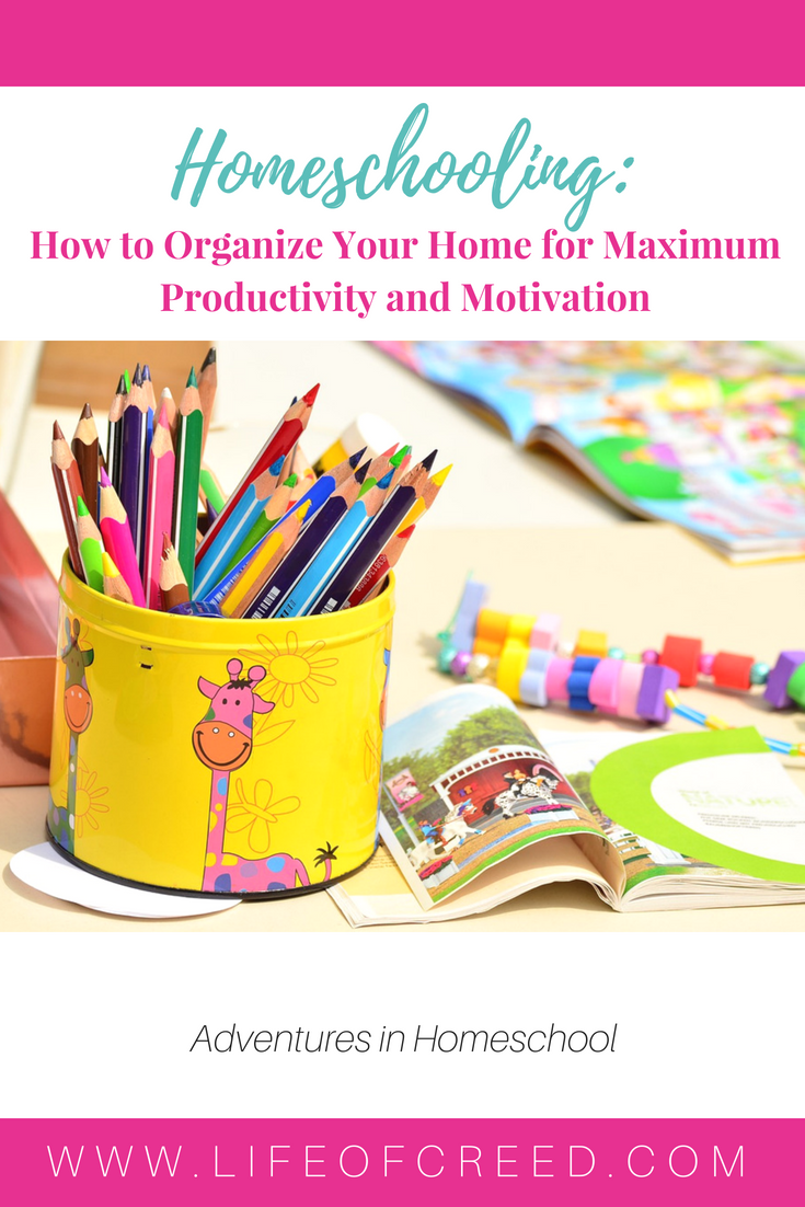 Organize your home - When you're limited with it, organizing and successfully going through homeschooling can seem quite challenging.