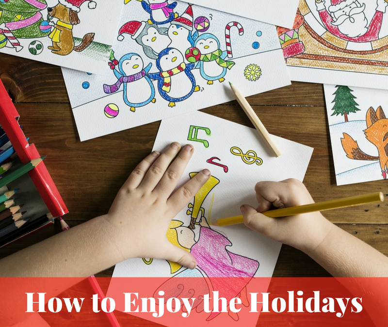 How to Enjoy the Holidays AND Homeschool