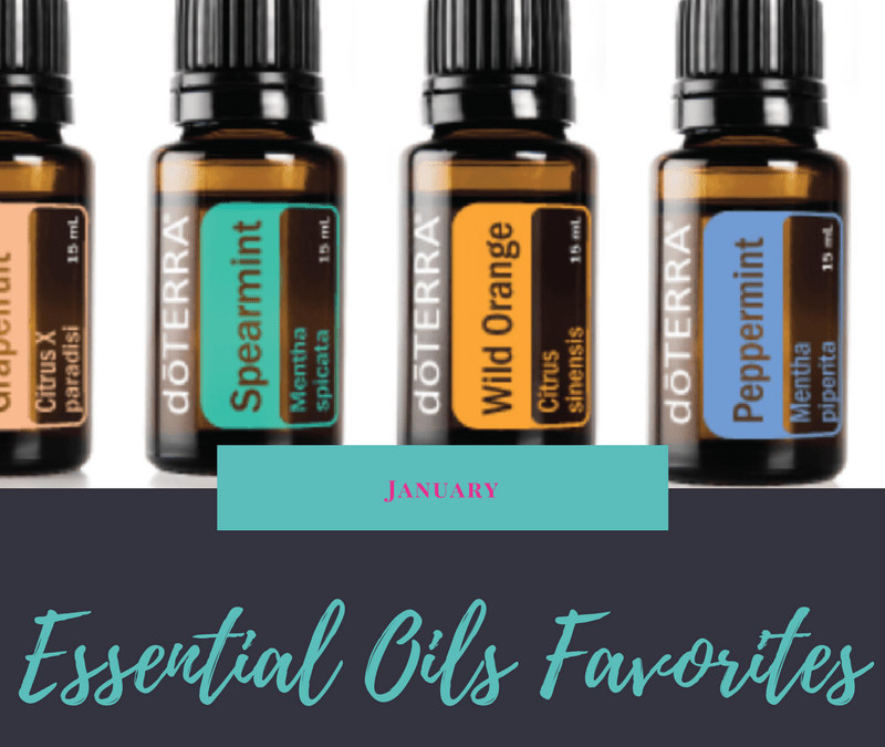 Essential Oils Favorites | January
