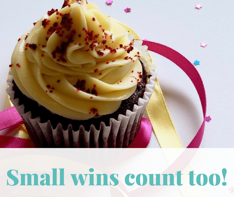 Small wins count too!