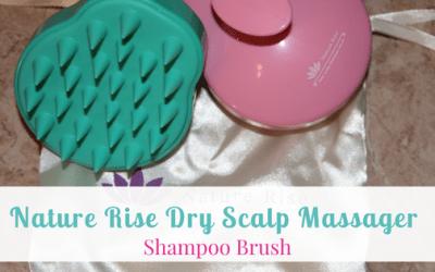 Nature Rise Dry Scalp Massager Shampoo Brush