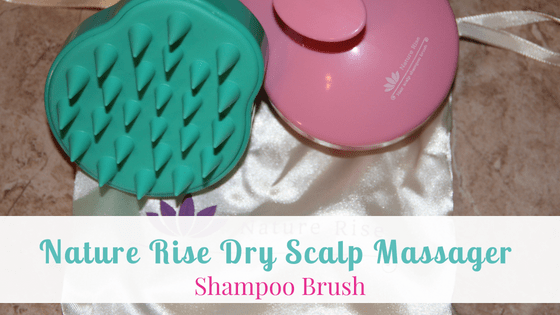 Nature Rise Dry Scalp Massager Shampoo Brush
