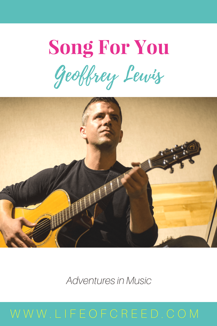 Geoffrey Lewis is here to tell a story with his upcoming music and he is starting with a bang. Can't wait to hear the next chapter. The first song leaves you in suspense.