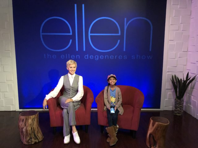 Charmingly CJ from Life of Creed with Ellen max figure at the Hollywood Wax Museum Pigeon Forge