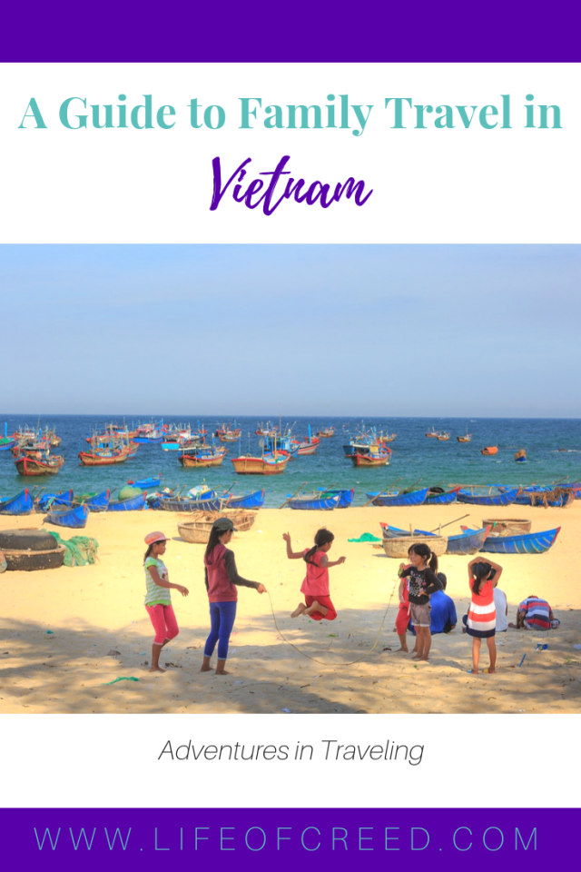 Certain destinations are more child-friendly than others, and even when you do encounter possible setbacks, a bit of planning can help you find your way around the issue in no time. One such place is Vietnam!