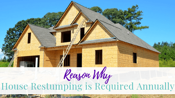 Reasons Why House Restumping is Required Annually
