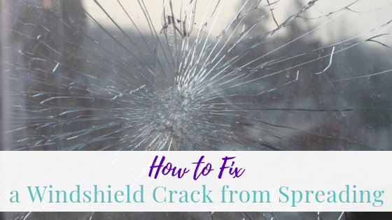 How to Fix a Windshield Crack from Spreading