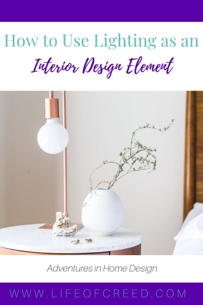 Everybody knows how important good lighting is. It can instantly transform the room and breathe new life into what used to be a dark, mundane space. If you're not sure where to start, here are some tips on how to maximize your lighting and use lighting as an interior design element.