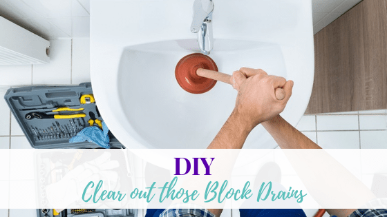 Clear out those Blocked Drains with these DIYs