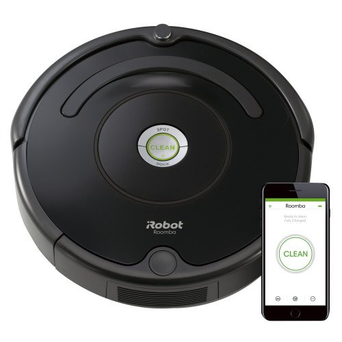 Make cleaning easy with the iRobot.